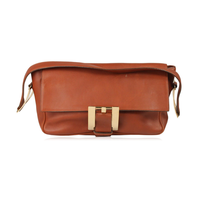 Vintage Buckle Shoulder Bag
