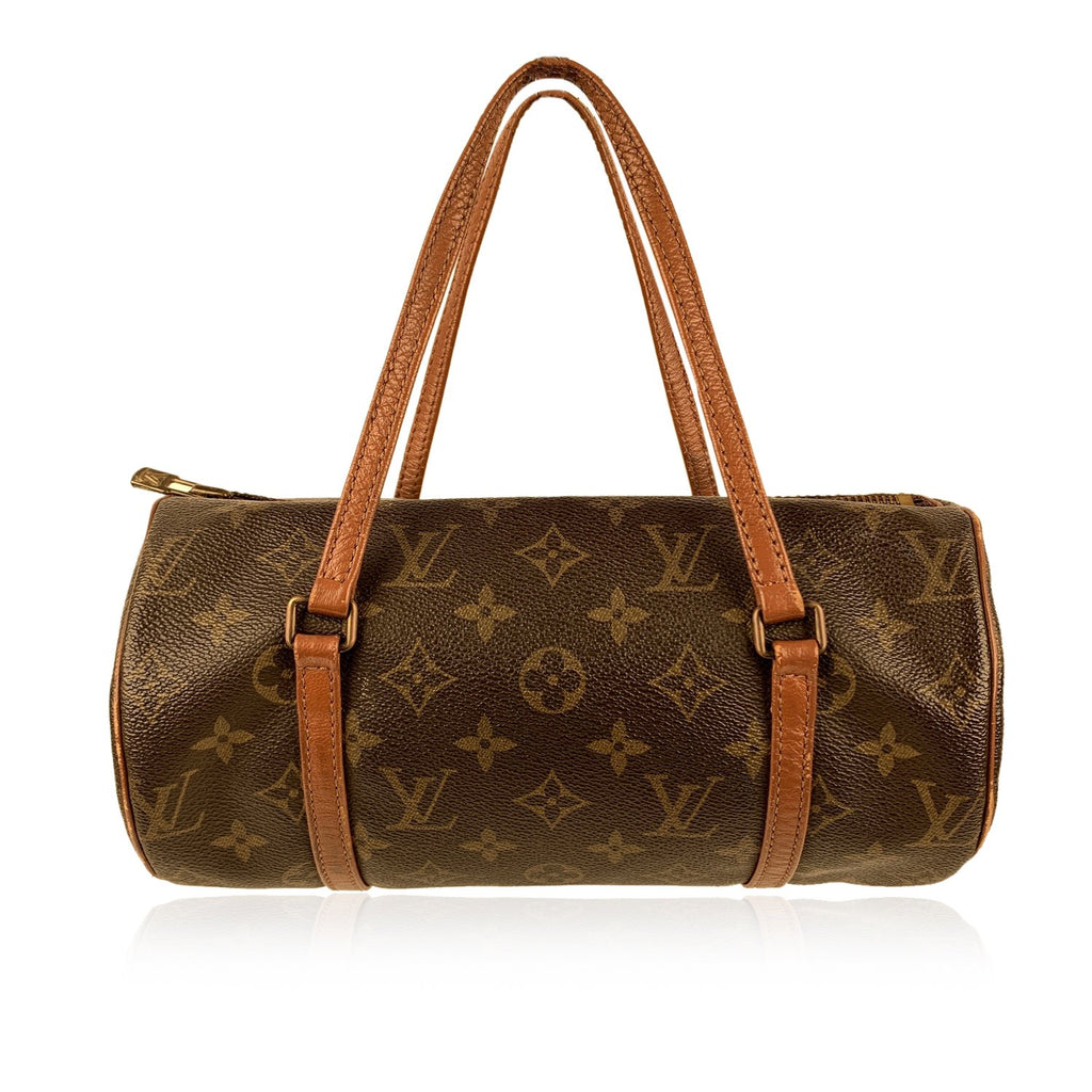 Louis Vuitton Vintage Brown Monogram Canvas Papillon 25 Handbag