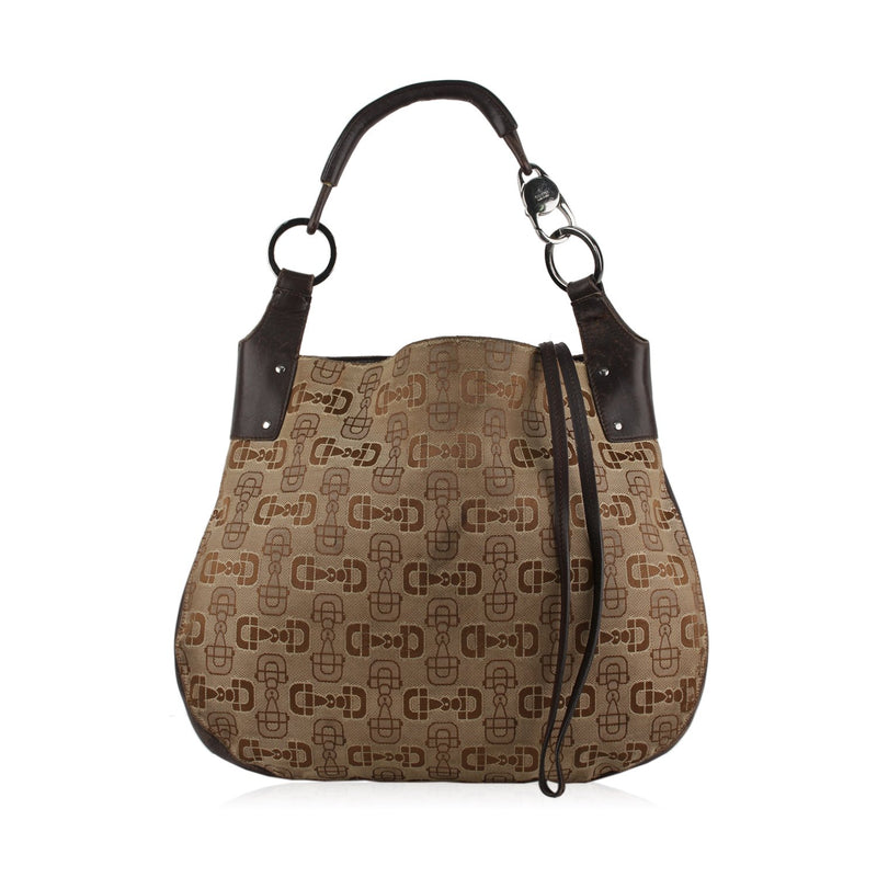 Gucci Shoulder Bag with Horsebit Pattern