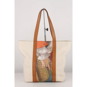 Grand Palais Canvas Tote Bag with Print