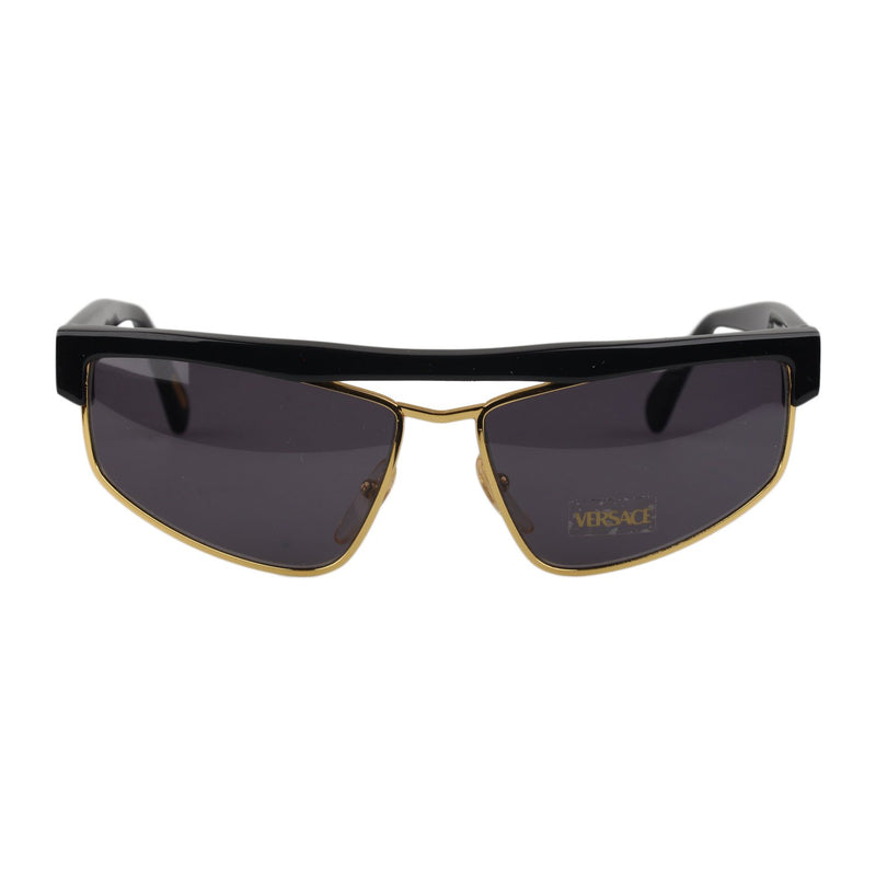 Versace Vintage Black Sunglasses Mod. S01 Col 784 58mm