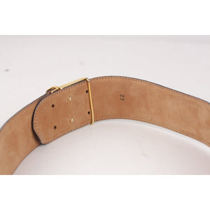 Vintage Belt with Lock Detail Size 42