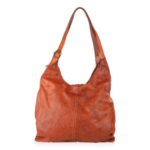 Perforated Large Hobo Bag