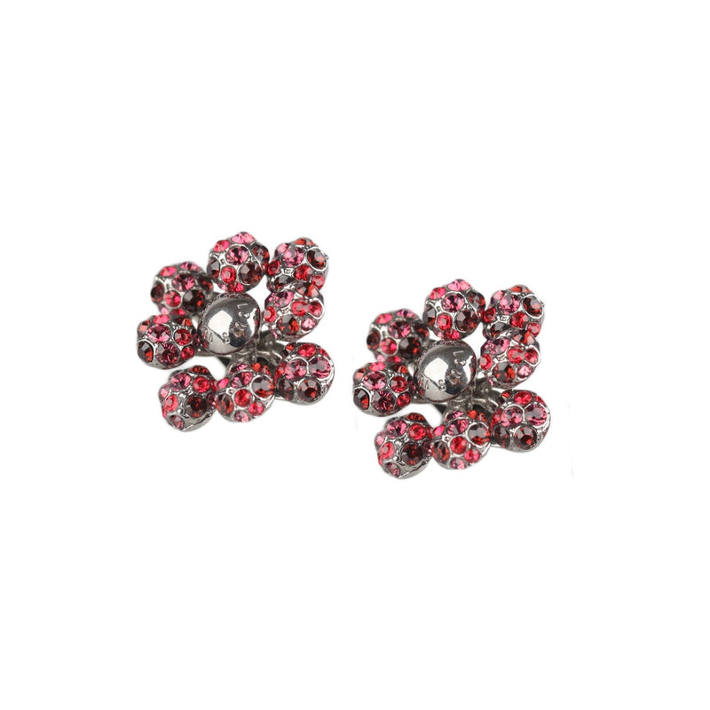 1001 Nuits Crystal Clip On Earrings