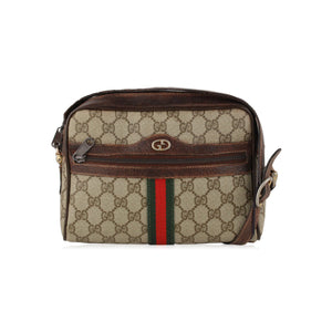Gucci Vintage Monogram Messenger Bag