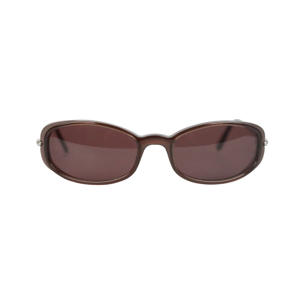 Cartier Paris Brown Small Unisex Sunglasses 50/18 New Old Stock