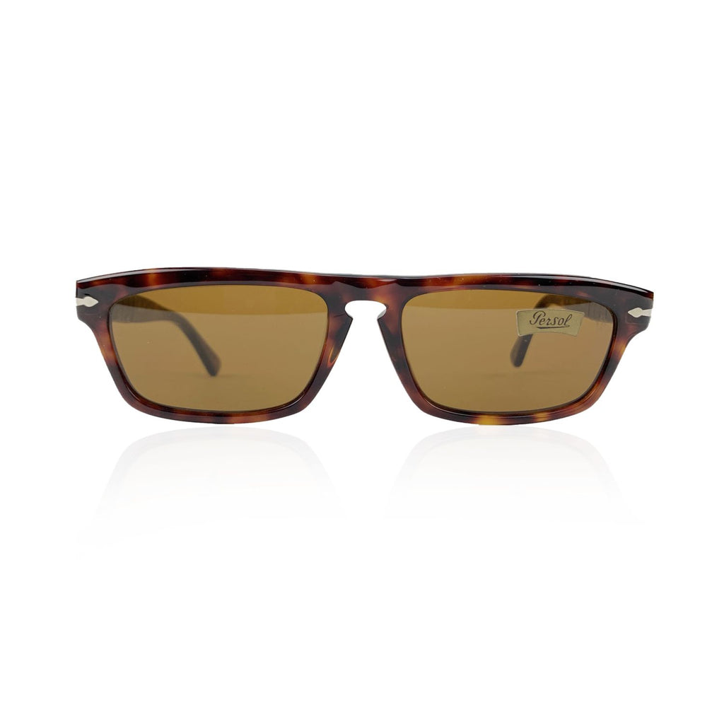 Persol Vintage Mint Brown PP 507 Sunglasses 56/17 142 mm Meflecto