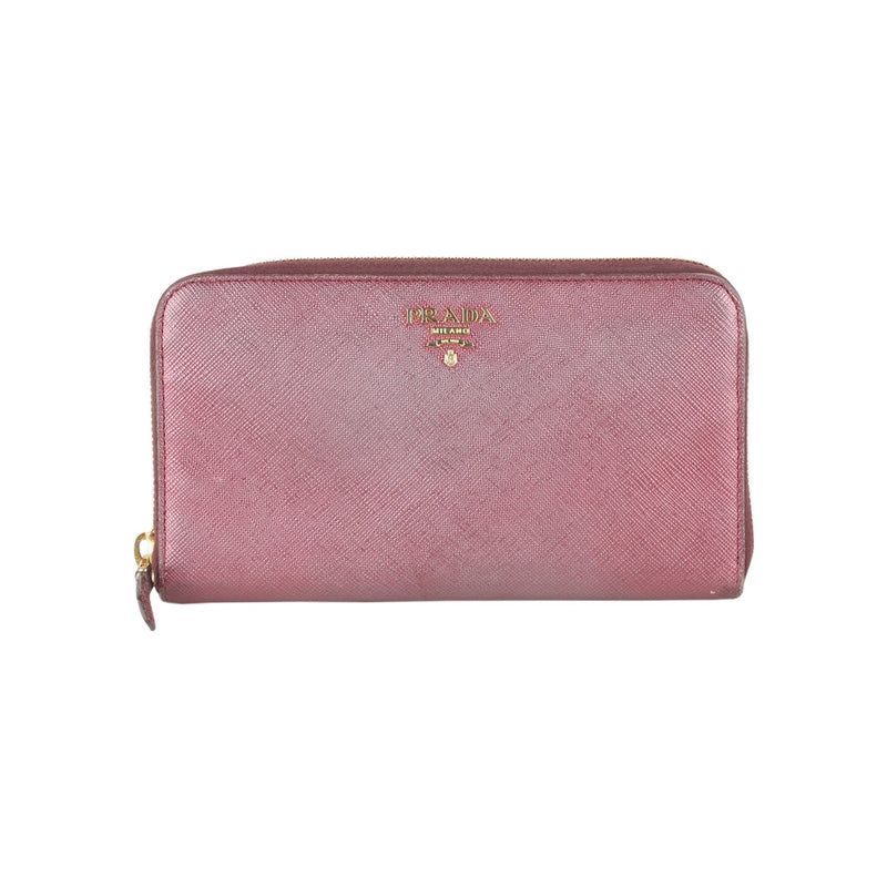 Saffiano Continental Zip Wallet