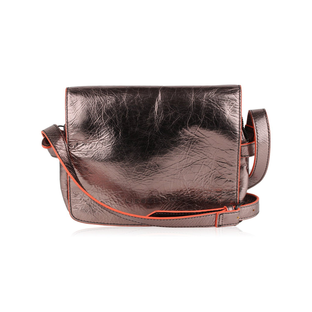 Liebeskind Metallic Crossbody Messenger Bag