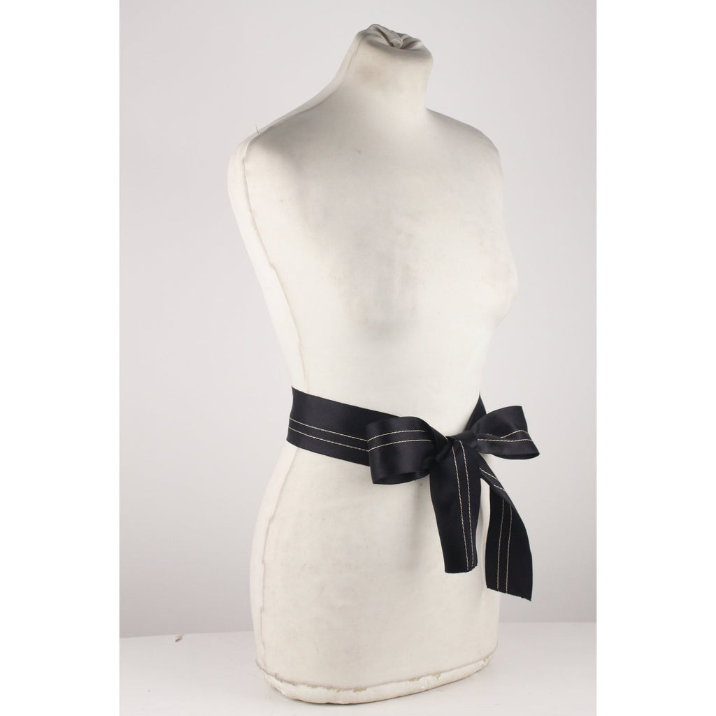 Silky Fabric Self Tie Ribbon Belt
