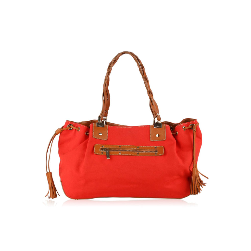 Fratelli Rossetti Tote Bag with Tassel detail
