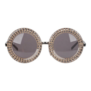 Round Diva Shades Sunglasses Mod Nelly Z0505U