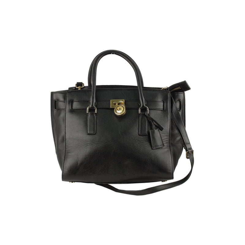 Michael Kors Black Hamilton Tote Bag