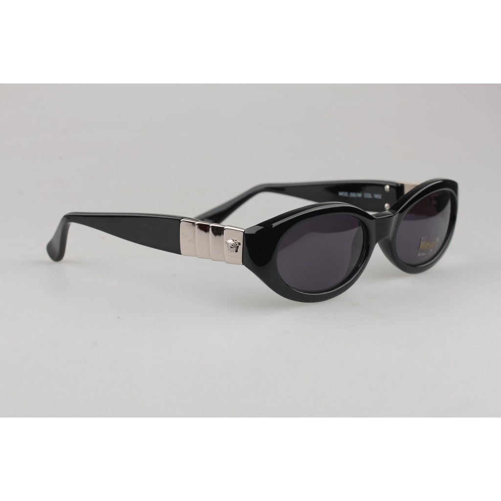 Versace Vintage Black Sunglasses Mod 292M Col N52 52mm