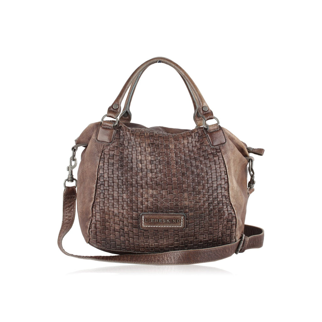 Liebeskind  Woven Front Leather Tote