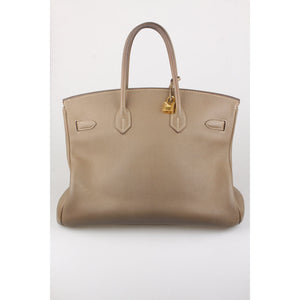 Hermes Togo Leather Birkin 35 Bag