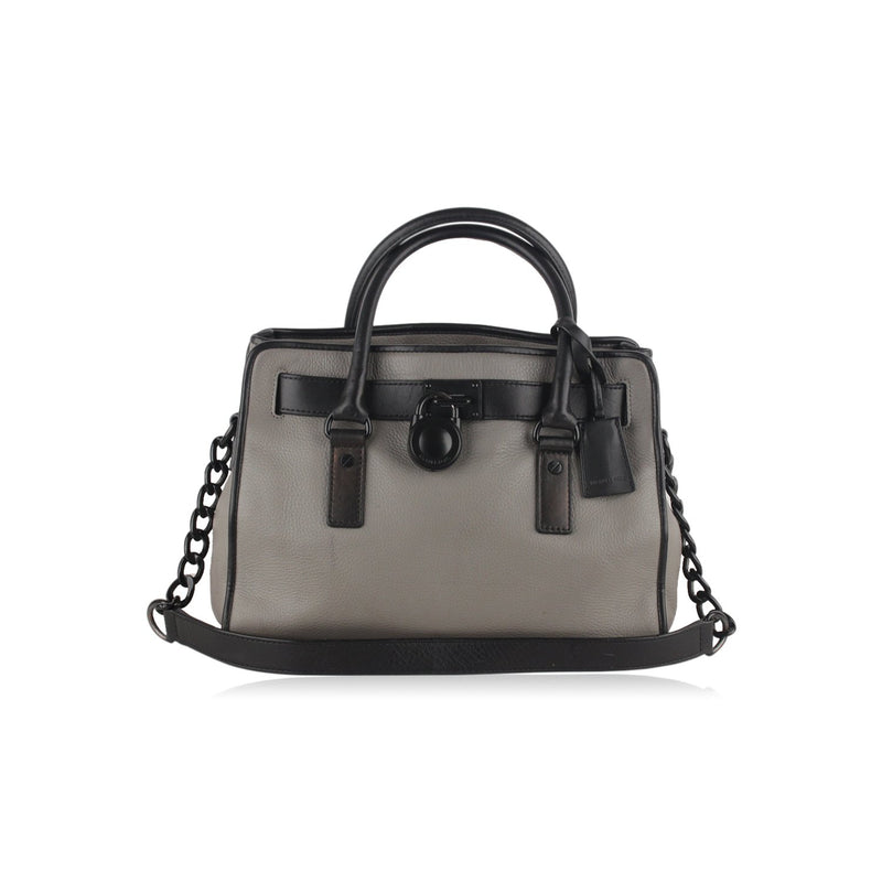 Michael Kors French Binding Hamilton Tote Bag