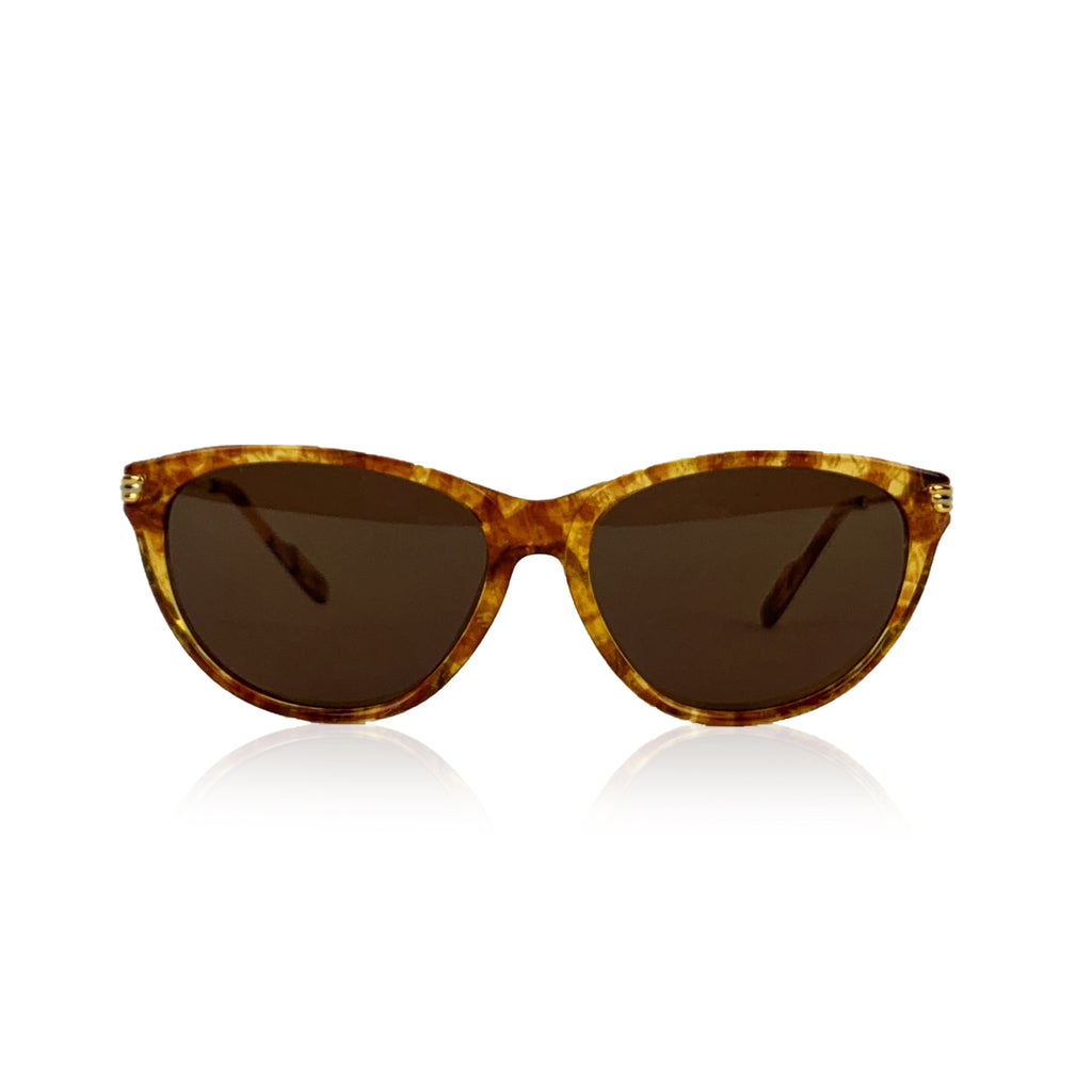 Cartier Paris Vintage Sunglasses Eclat Miel Dore Gold Plated 51 120mm