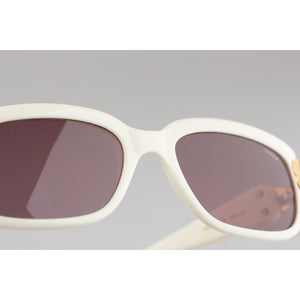 Lozza VIntage White Sunglasses Mod. SL 1558 135mm wide