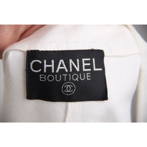 Chanel Double Breasted Vest with Logo Buttons