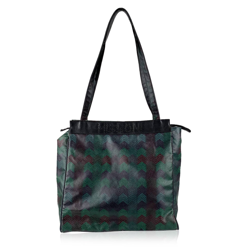 Missoni Vintage  Chevron Tote Bag