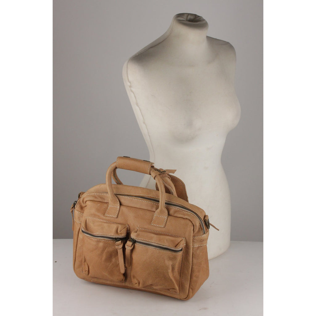 The Little Bag Satchel with Front Pockets