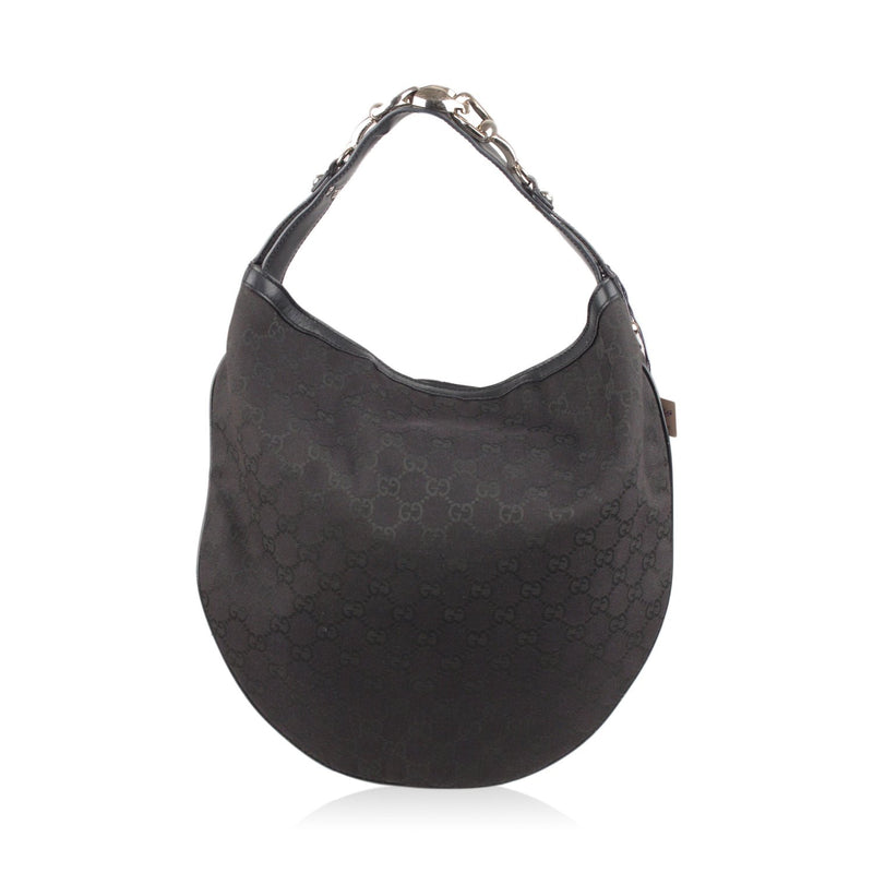 Wave Horsebit Hobo Shoulder Bag