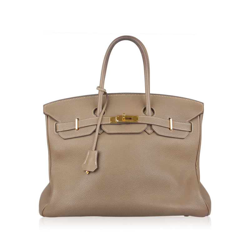 Togo Leather Birkin 35 Bag
