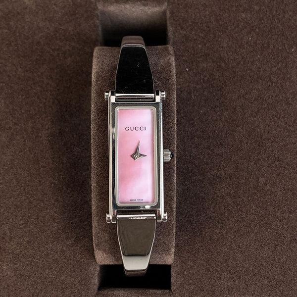 Gucci Vintage Stainless Steel Wrist Watch Mod 1500L Quartz