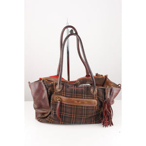 Panelled Tote Bag
