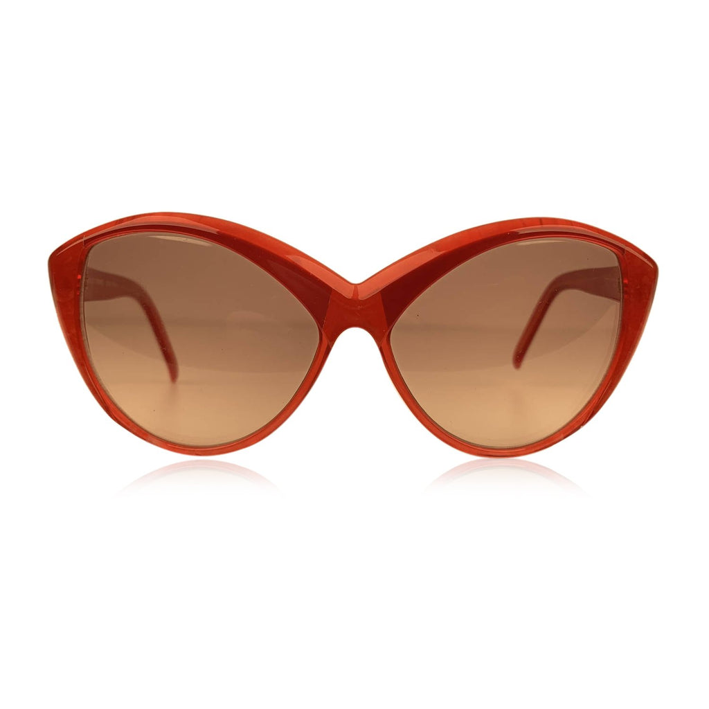 Yves Saint Laurent Vintage Cat Eye Red Sunglasses 8702 P 72 - OPHERTY & CIOCCI