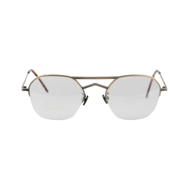 Versace Gold Metal Half Rim Eyeglasses 541 130mm Wide