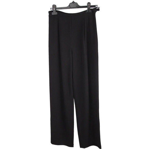 Valentino Vintage Black Hight Waist Pants Trousers Size 8