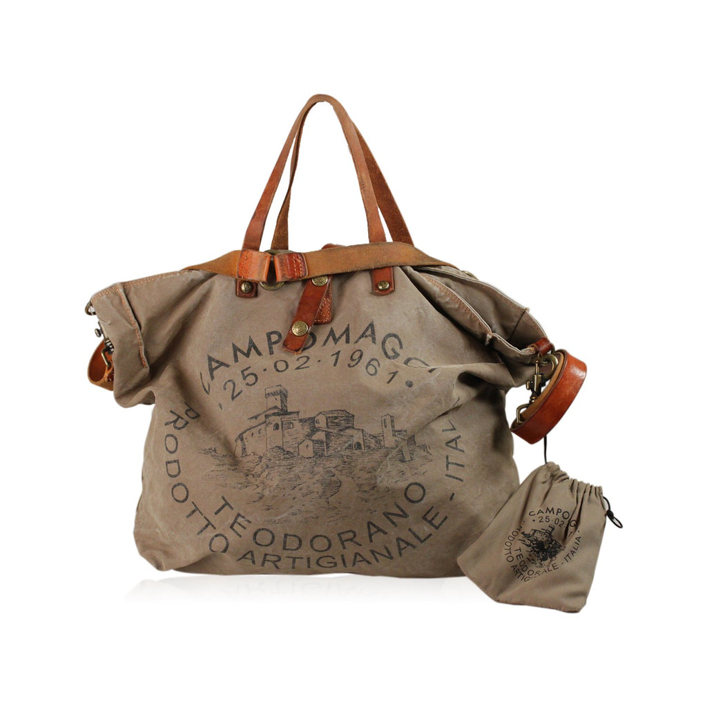 Canvas Tote Bag with Print