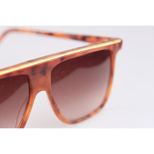 Vintage Brown Square Sunglasses 418 54mm