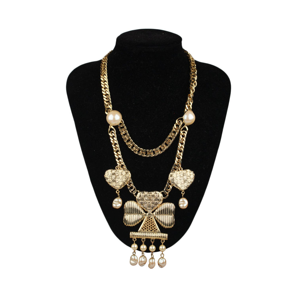 For Rocco Barocco Vintage Clovers Necklace - OPHERTY & CIOCCI