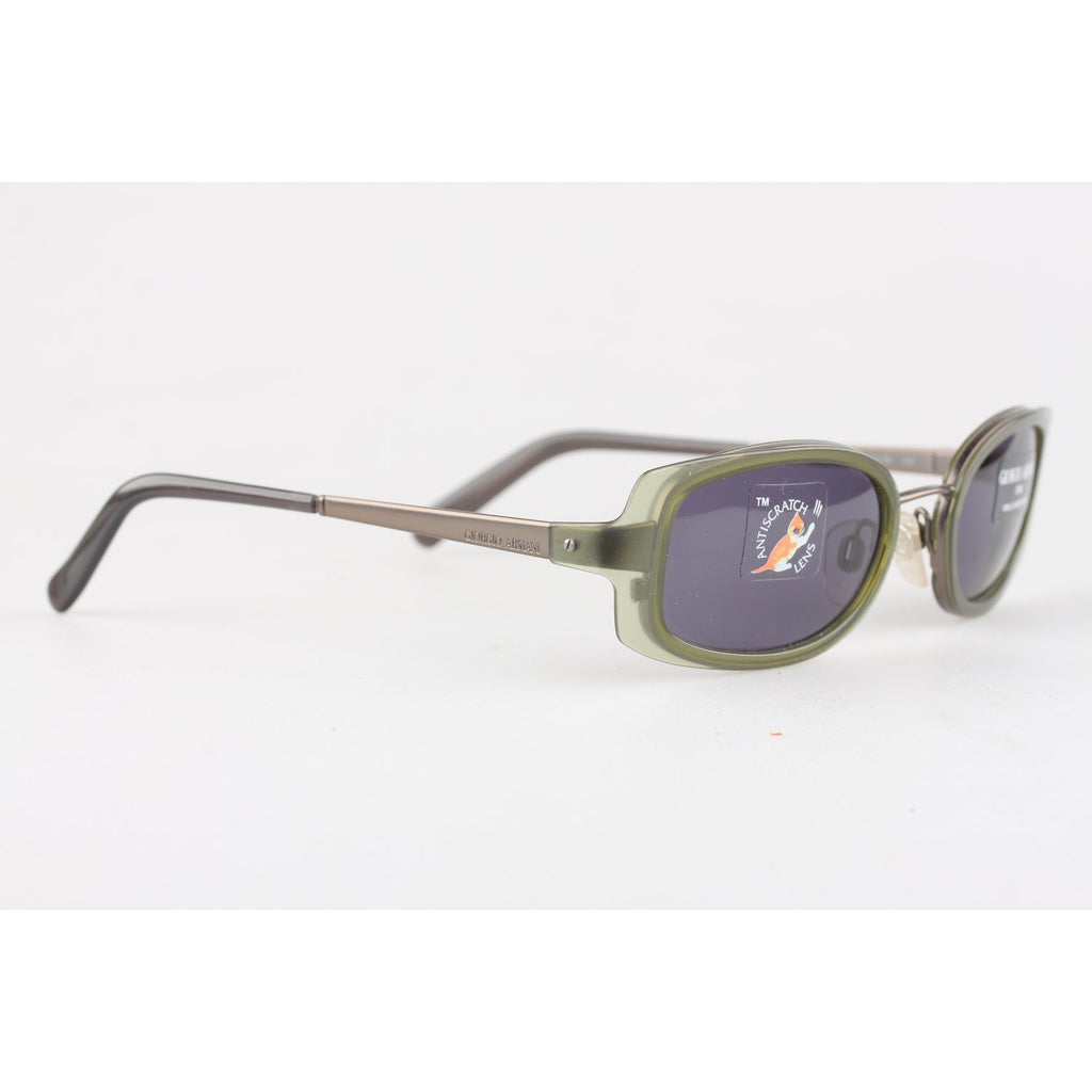 Armani Vintage Unisex Gray Sunglasses Mod 1505 135 mm wide