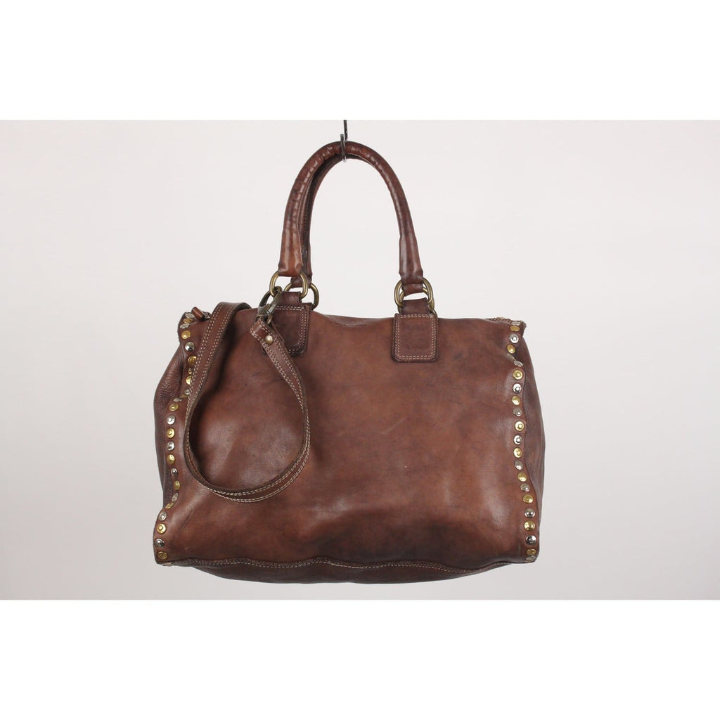 Boston Bag With Studs Opherty & Ciocci