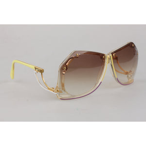 Rare Irregular Large Sunglasses Mod. 860 56mm