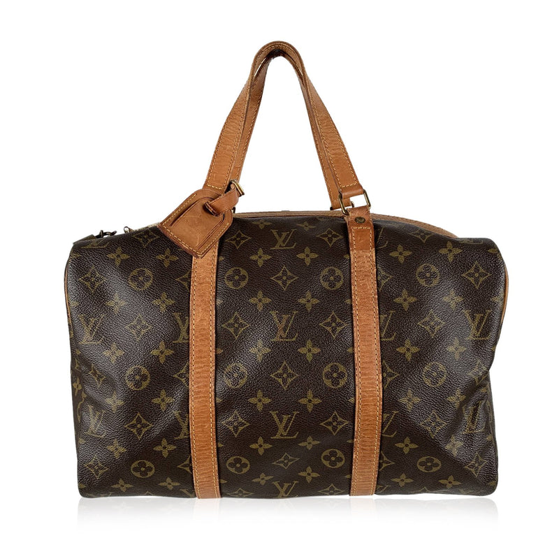 Louis Vuitton  Vintage Monogram Canvas Sac Souple 35 Bag