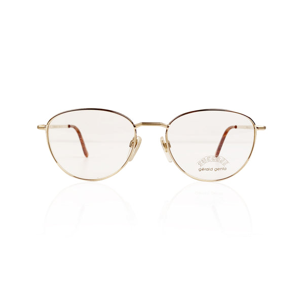Gerald Genta Vintage Eyeglasses Gold Plated Success 02 135 mm