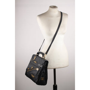 Moschino Vintage I Believe in Punk Chic Satchel Bag