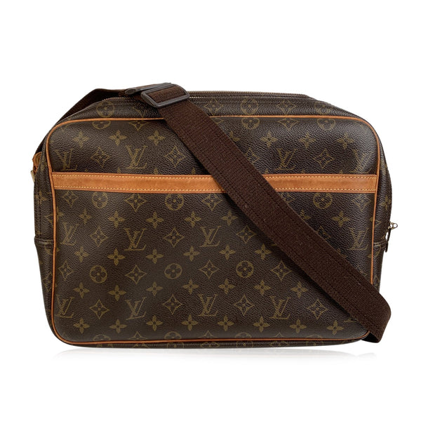 Louis Vuitton Monogram Canvas Reporter GM Messenger Crossbody Bag