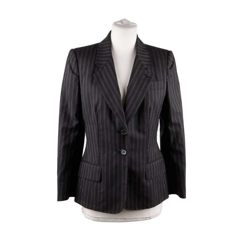 Yves Saint Laurent Pinstriped Blazer Size 38