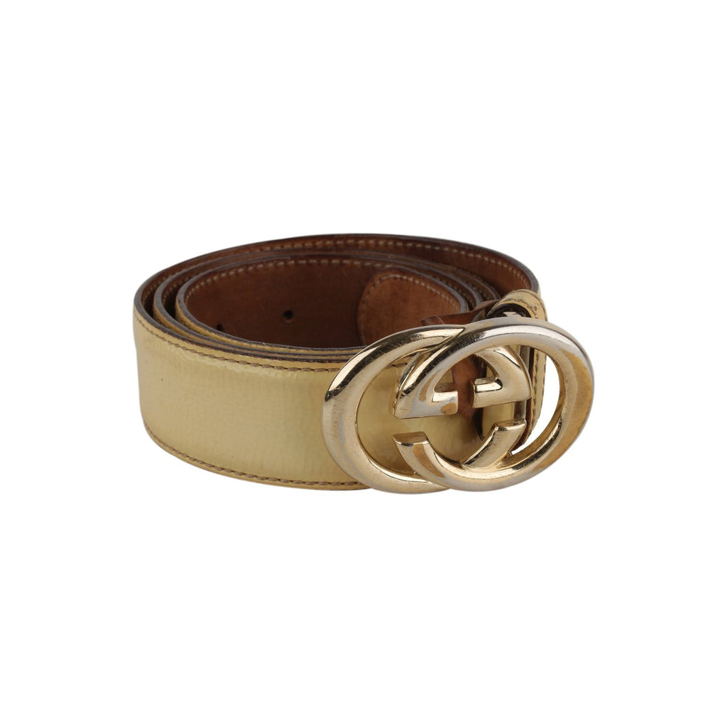 Gucci GG Buckle  Belt Size 95/38