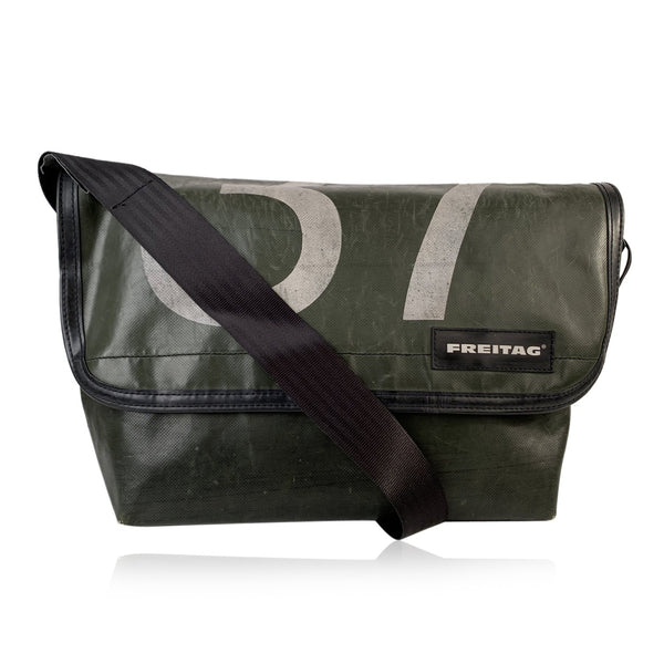 Freitag Military Green Surfside 6 F42 Truck Messenger Crossbody Bag