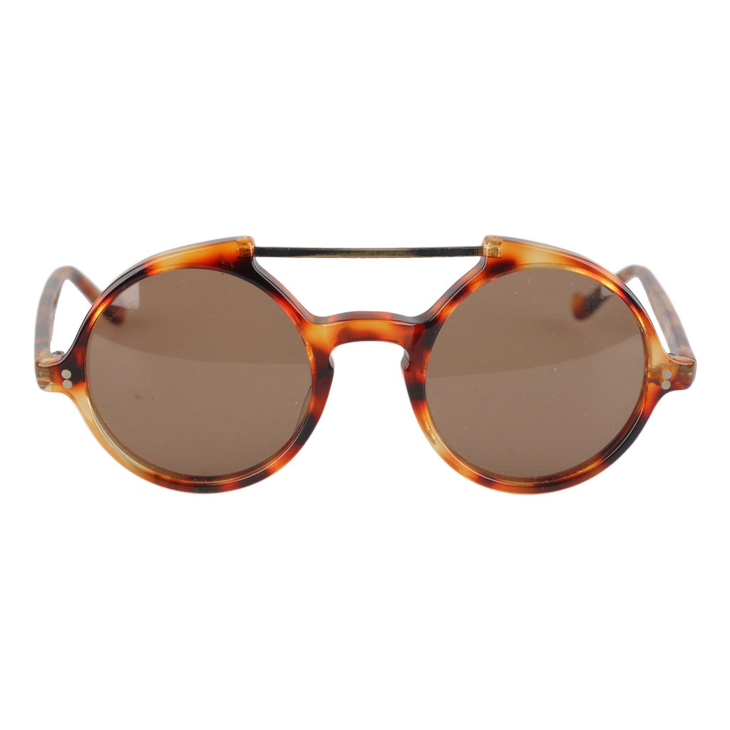 Vintage Round Steampunk Sunglasses 45mm Mod. 530
