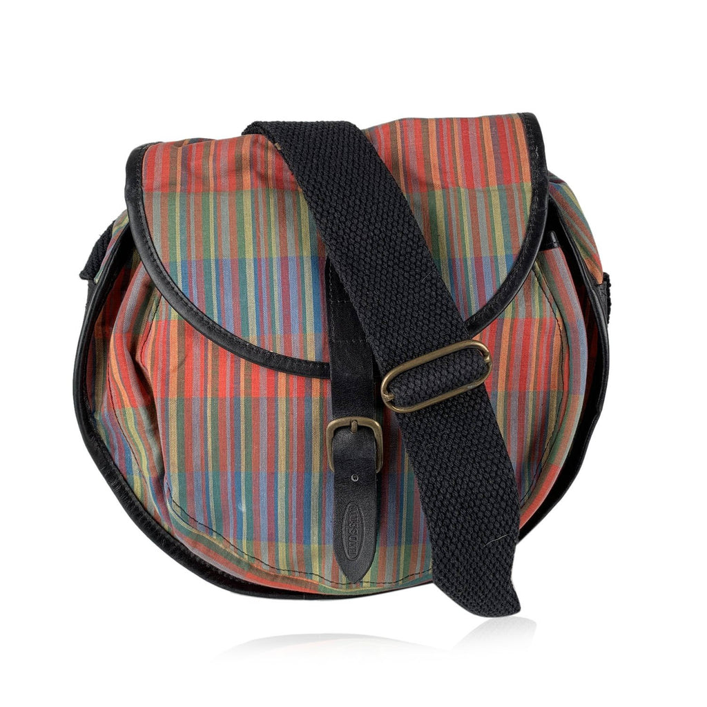 Missoni Vintage Striped Messenger Bag