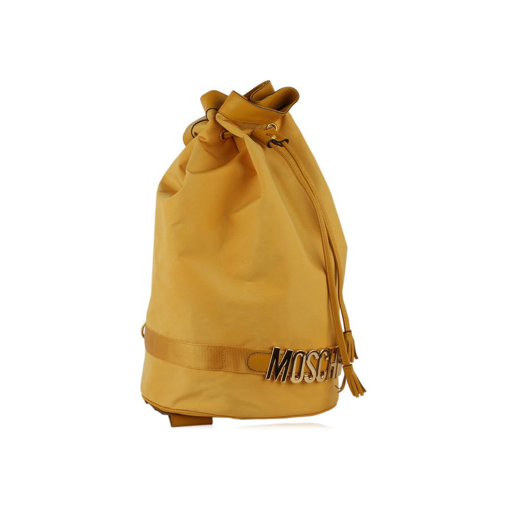 Moschino Redwall Vintage Drawstring Backpack Bag