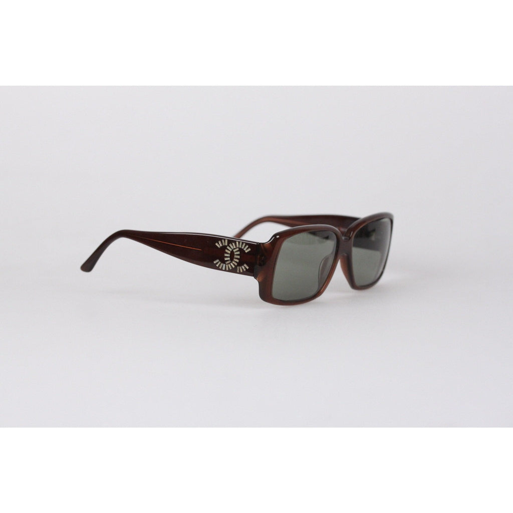 Chanel Vintage Brown Sunglasses Mod. 5114-B 58mm